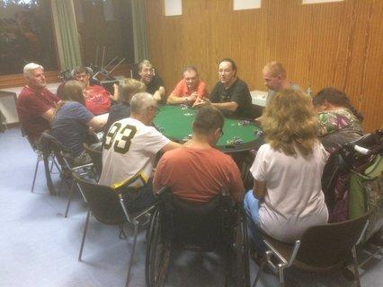 Bild von der Pokerrunde