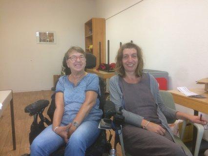 Marianne Münz und Silvia Lewin