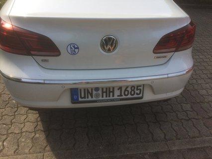 Autokennzeichen von Hubert Hüppe UN HH 1685