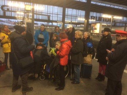 Treffen am Münchner Hauptbahnhof