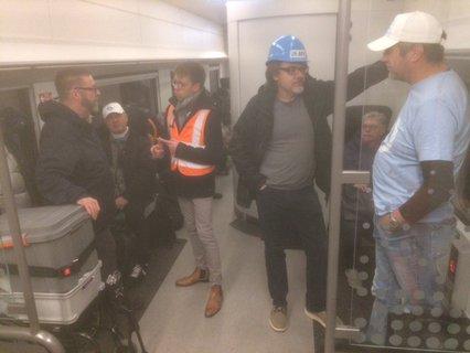 Diskussionen im Zug nach Düsseldorf
