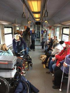 Reges Treiben in der S-Bahn nach Hannover