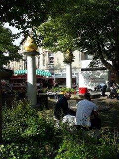 Bild vom Wehlheider Wochenmarkt in Kassel