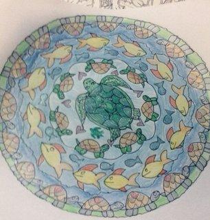Schildkröten-Mandala
